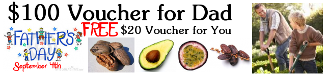 50 Dollar Voucher for Dad 10 dollar voucher for you