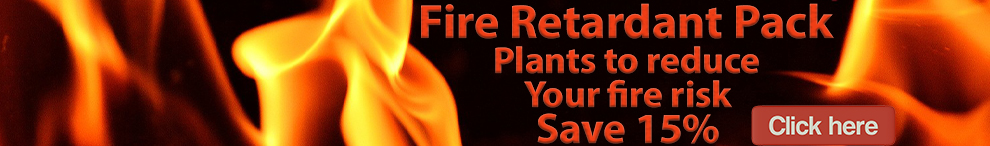 Fire retardant plant pack