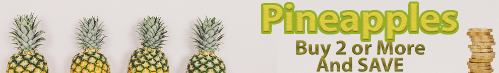 Pineapple - buy 2 and save