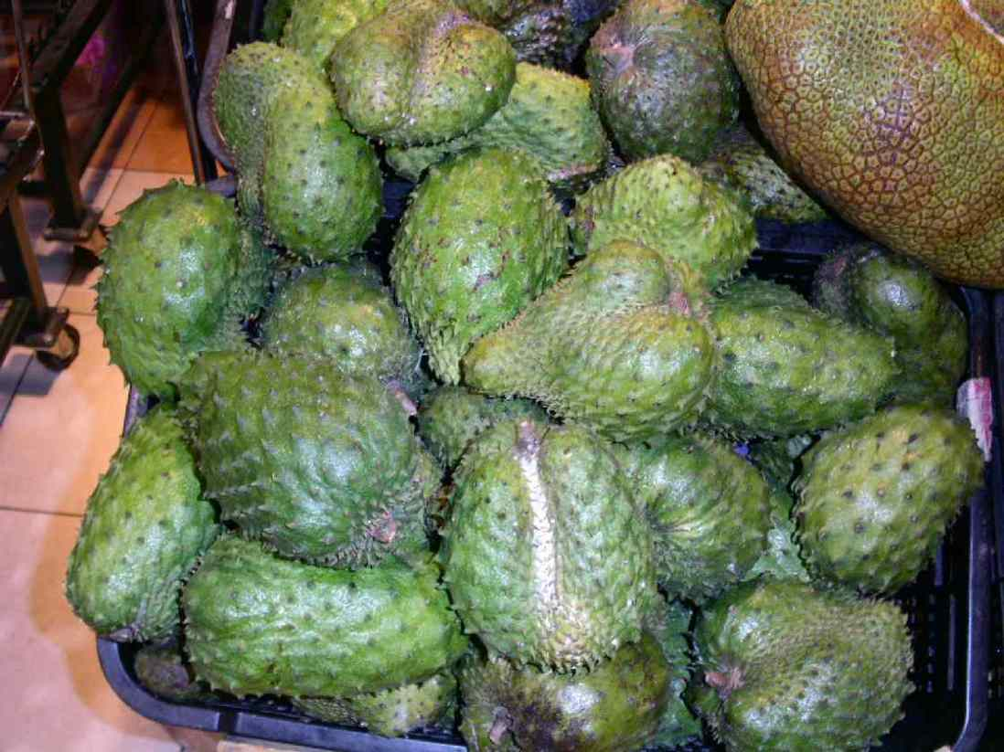 winter fruits soursop fruit