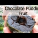 Chocolate Black Sapote - the chocolate pudding fruit.
