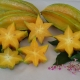 Carambola Fruit when cut open look like a star