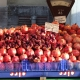 Azerbaijani pomegranates  in the market in Latvia - sooooo big and juicy