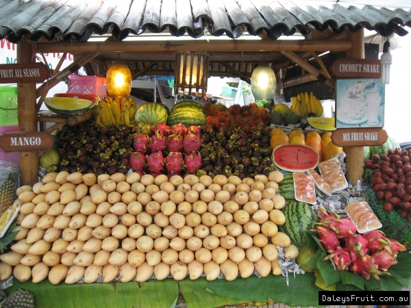 Thai Tropical Fruit Stall
