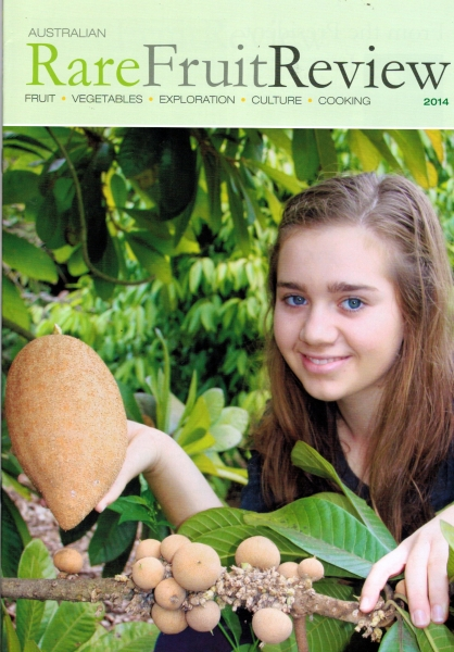 Rare Fruit Review 2014 Front Cover