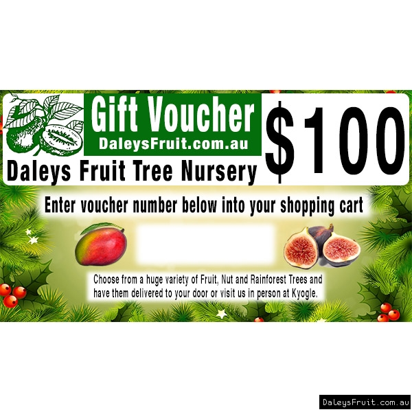 Gift Vouchers for Daleys Fruit Tree Nursery