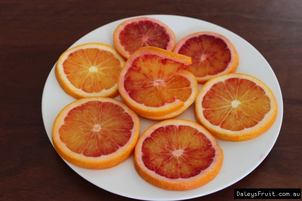 Arnold Blood oranges slices