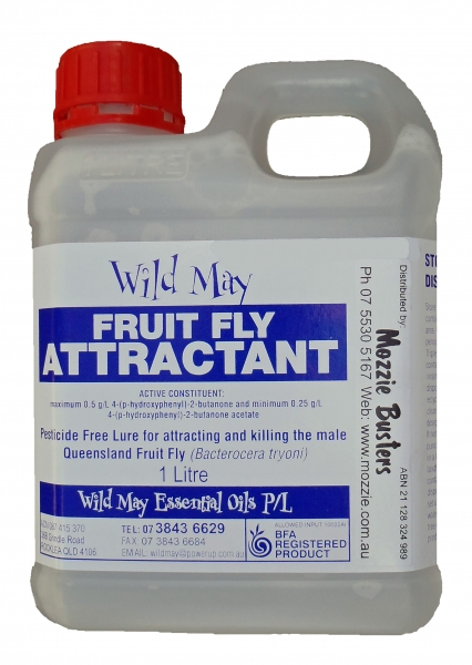 Wild May fruit fly attractant