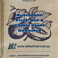 Cover page of Fruit and Edible Plant Resource By DaleysFruit.com.au [All Rights Reserved]