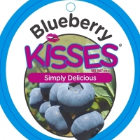 Blueberry Kisses Lable