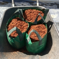 1 Coir Peat Block will fill 3 x 20ltr bags By DaleysFruit.com.au [All Rights Reserved]