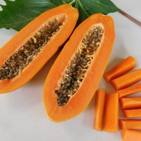 Broad Leaf Papaya fruit By DaleysFruit.com.au [All Rights Reserved]