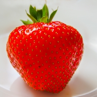 Strawberry general Picture not exact variety By 192635 [CC0 1.0 (https://creativecommons.org/publicdomain/zero/1.0/deed.en)] From Pixabay